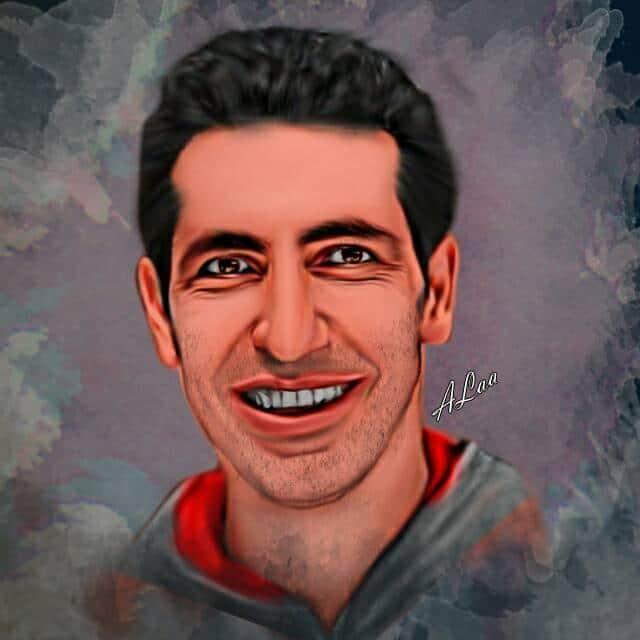 رسم ديجيتال بواسطة علاء الحسيني