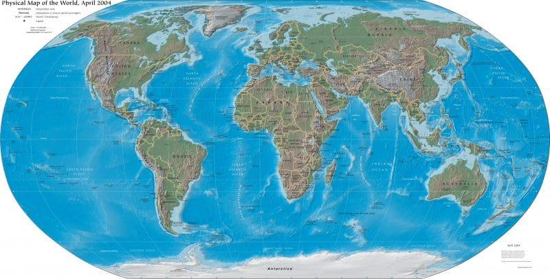 مراجعة الجغرافيا ليلة الامتحان