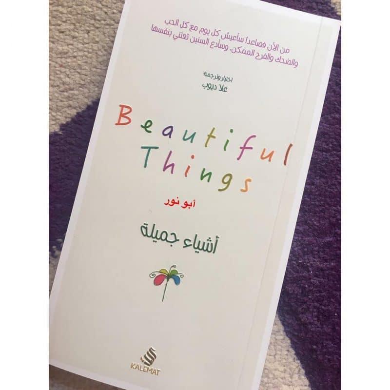 ملخص و تحميل كتاب اشياء جميلة