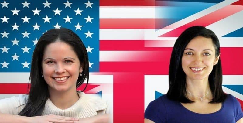 الفرق بين الإنجليزي الأمريكي والبريطاني.. إيه الأفضل؟