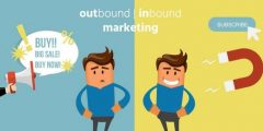 الفرق بين  Inbound Marketing & Outbound Marketing