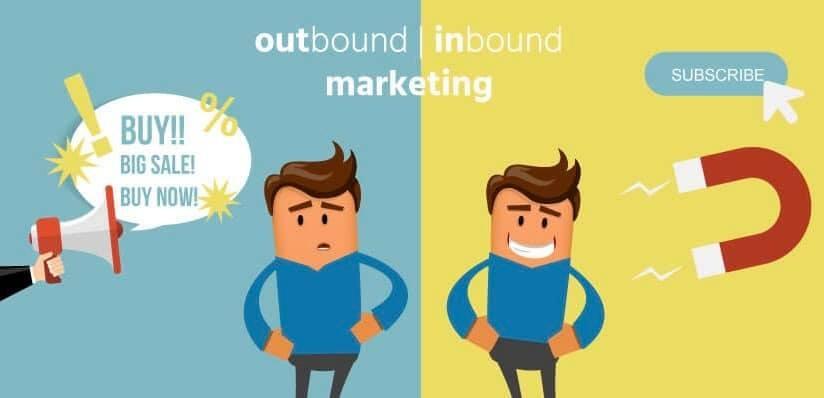 Photo of الفرق بين  Inbound Marketing & Outbound Marketing