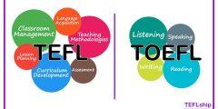 ايه الفرق بين الـ TEFL و الـ TOEFL