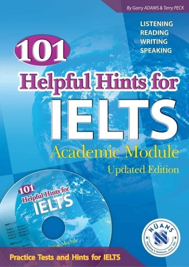 """Photo of افضل الكتب لتحضير ال IELTS .. كتاب """"101 Helpful Hints for IELTS"""""""