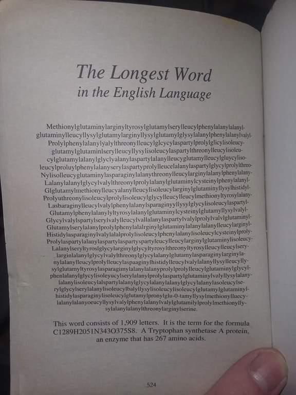 Photo of أطول كلمة في الإنجليزية !