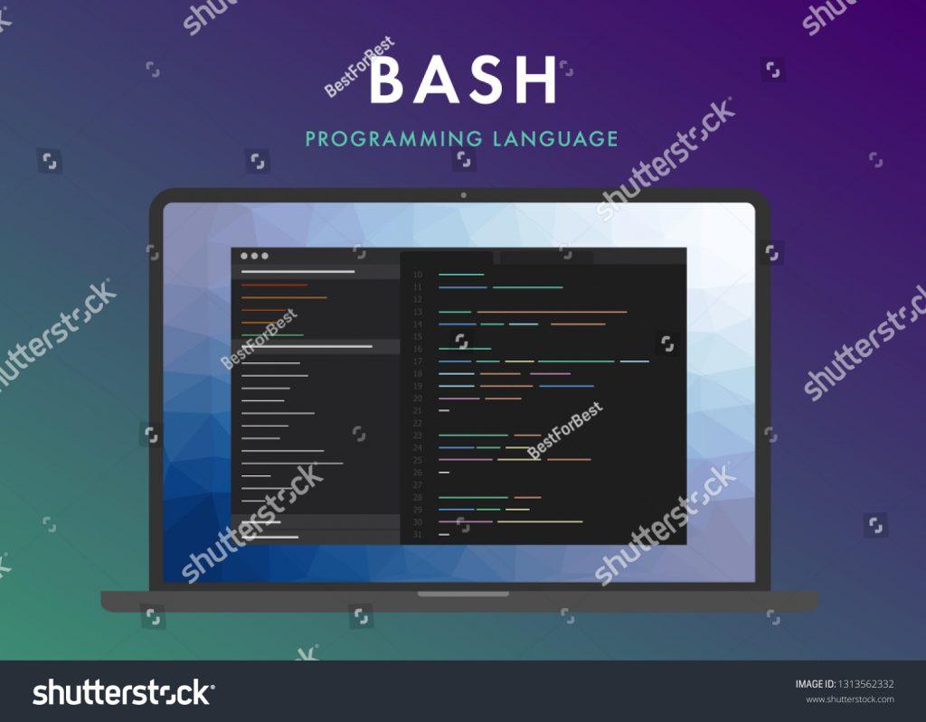 لغة البرمجة bash