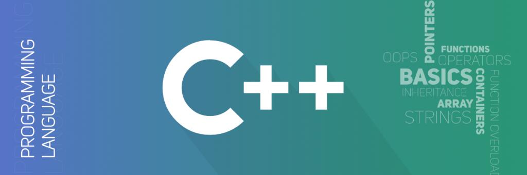 لغة البرمجة ++c