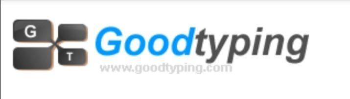 Good typing موقع يعد من أهم المواقع في تعلم الكتابة السريعة علي لوحة المفاتيح