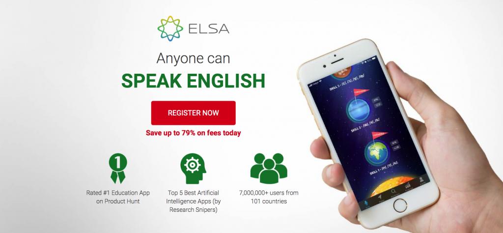 Elsa Speak app
