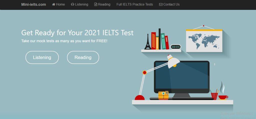 اختبار ايلتس مجاني