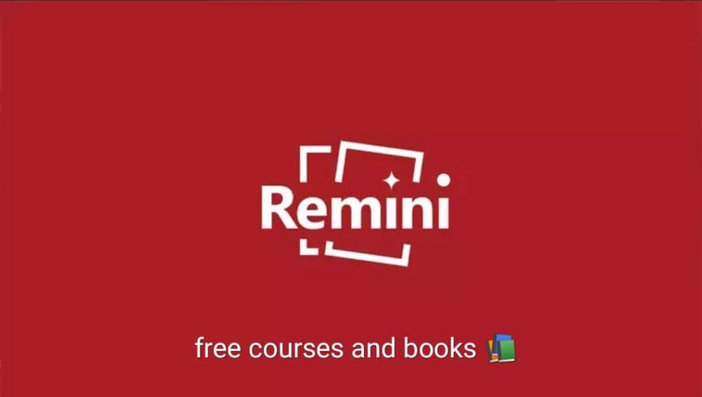 برنامج Remini