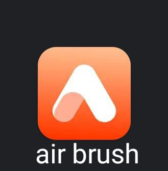 برنامج تعديل الصور اون لاين: air brush
